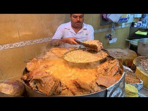 MIND BLOWING STREET TACOS in Mexico City! BEST Beef Brisket (Suadero) Tacos! видео