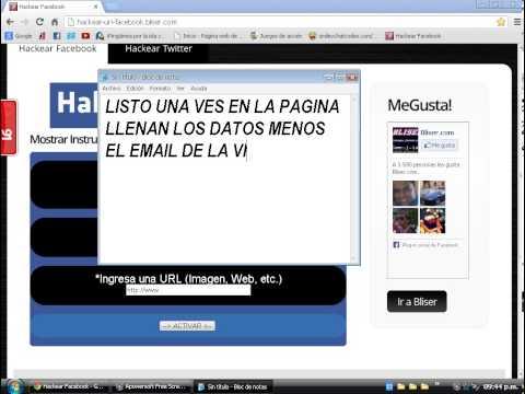 como hackear un facebook sin programas 2013 88 views 3 9 hola como ven