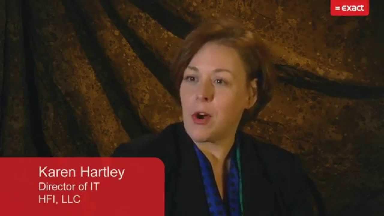 Karen Hartley, Director of IT ‐ HFI, LLC