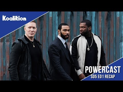 """Power Season 5 Episode 1 """"Everyone is Implicated"""" Recap & Discussion   Powercast 22"""