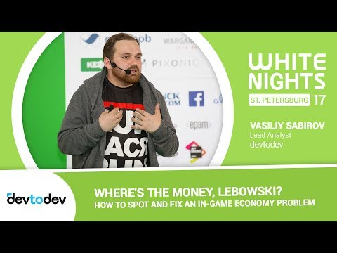 Vasiliy Sabirov (devtodev) - Where's the Money, Lebowski?