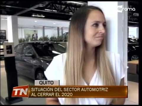 Situación del sector automotriz al cerrar el 2020