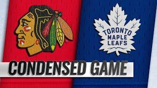 03/13/19 Condensed Game: Blackhawks @ Maple Leafs
