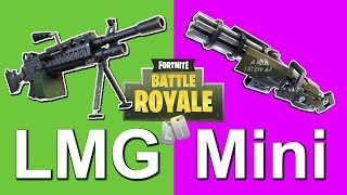 Video LMG vs Minigun: Which is Better? - Fortnite Battle Royale MP3, 3GP, MP4, WEBM, AVI, FLV Juni 2018