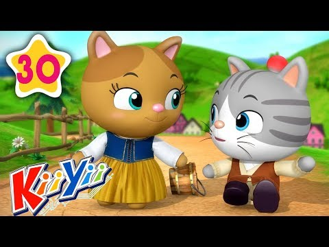 Jack And Jill | Plus Lots More Nursery Rhymes | COMPILATION By KiiYii | Songs For Children