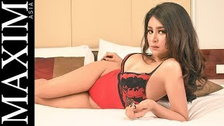 Video Qinan Glebova on maxim asia magazine MP3, 3GP, MP4, WEBM, AVI, FLV November 2018