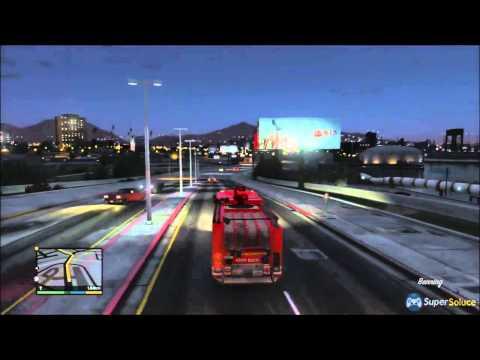 comment trouver camion pompier gta 5