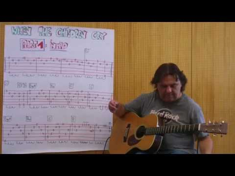 Fingerstyle Guitar Lesson#104: WHEN THE CHILDREN CRY (PART 1 / Intro) Mp3