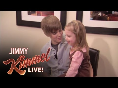 fan - Jimmy Kimmel Live - Jimmy Surprises Bieber Fan.