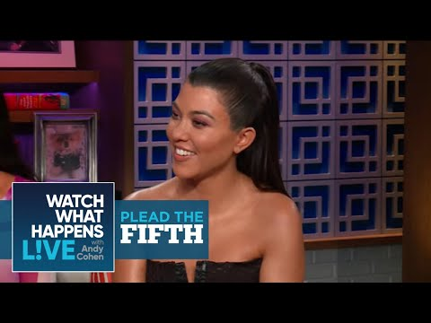 Would Kourtney Kardashian Have Stayed With Tristan Thompson?   Plead The Fifth   WWHL