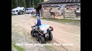9. ATV Polaris Big Boss 6x6 aufs Kreuz gelegt