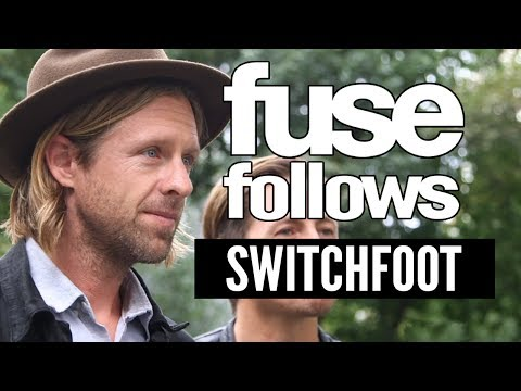 Switchfoot - We follow San Diego's Switchfoot around the streets of New York as they hit a radio interview, do the final mastering of their album