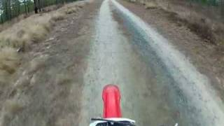 9. Top Speed on Honda CRF230F