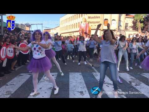2017 Flashmob Santa Olalla
