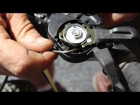 How To Fix Rapid Fire Shifter - Shimano STX RC - BikemanforU Gear Repair