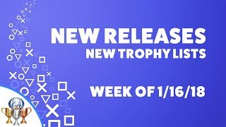 PlayStation New Releases and New Trophy Lists - PS4 & Vita (Week of 1/16/18) Digimon & Dissidia