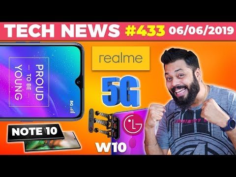 Realme 5G Smartphone Coming 🤩, P70 based LG W10 @10k, Galaxy Note 10 Price,Nokia 2.2 on A22-TTN#433