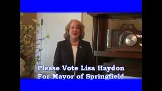 Lisa Haydon For Mayor of Springfield 10 2014