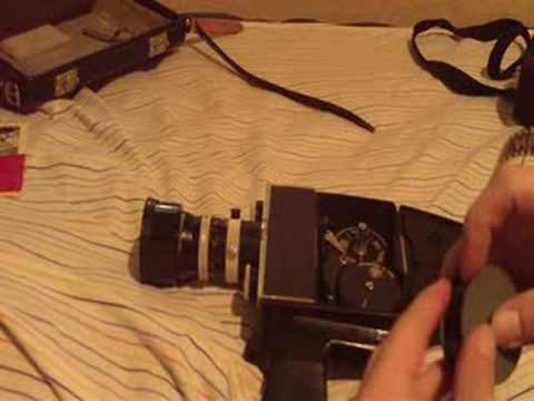 How to load an 8mm movie camera (Part 1)