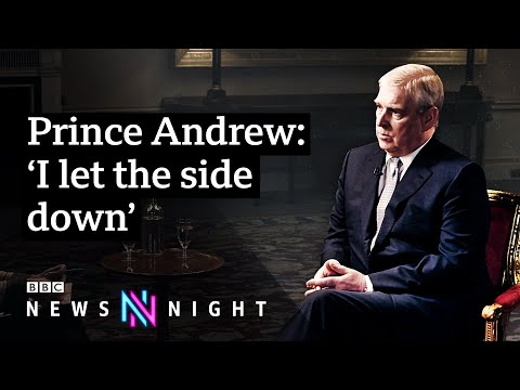 Prince Andrew and Jeffrey Epstein FULL INTERVIEW - BBC Newsnight