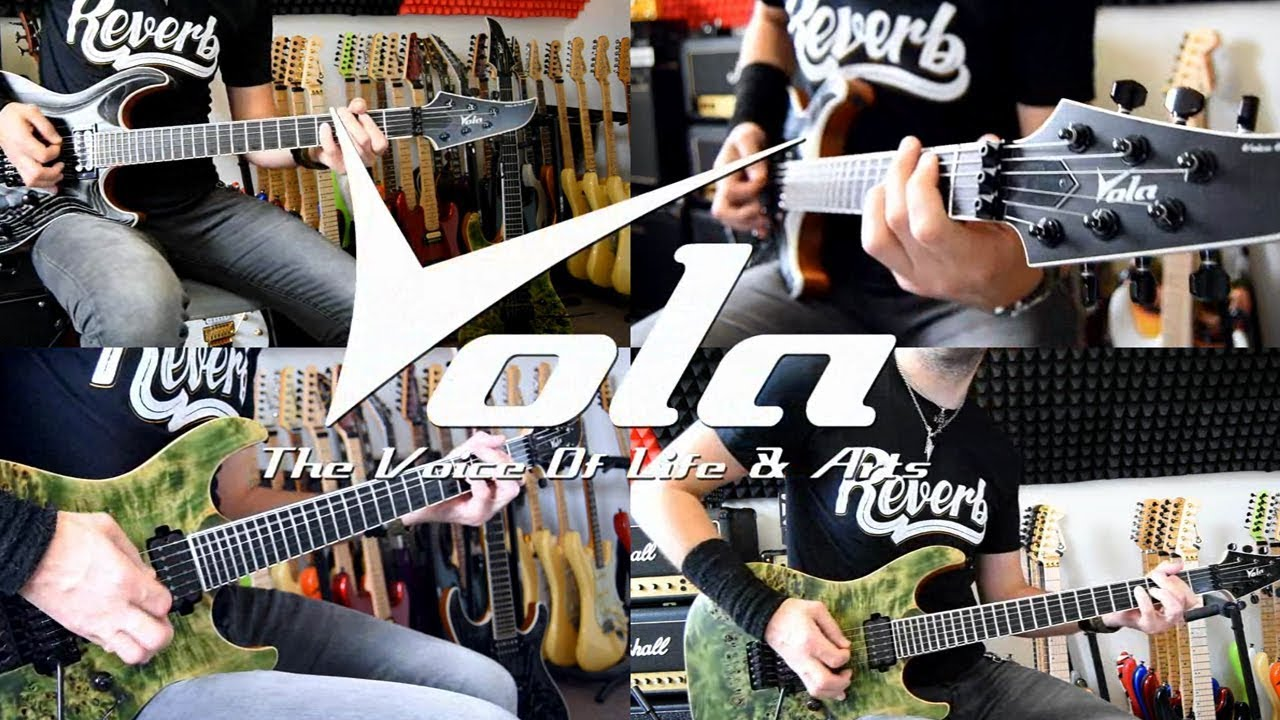 Heavy Metal guitar solo with Vola guitars