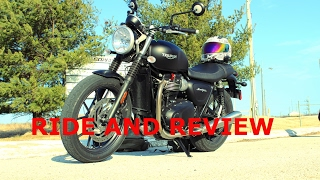 3. 2017 Triumph Street Twin   Ride and Review