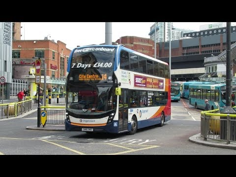 Buses & Trains At Liverpool And Merseyside May 2019