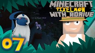 Minecraft PIXELMON with aDrive! Ep07 Catching Everything - PocketPixels White Let's Play! by aDrive