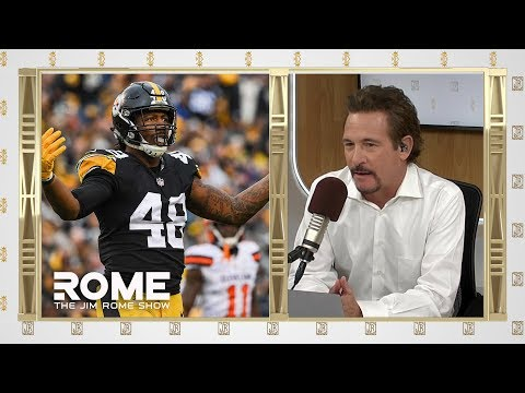 Video: Steelers bust up Le'Veon's locker   The Jim Rome Show