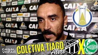 [14.07.2017] Entrevista apresentação com o zagueiro Tiago Alves  Pré-jogo Ceará SC X EC Juventude  Série B  14ª Rodada...