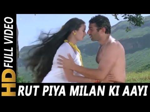 Video Rut Piya Milan Ki Aayi | Kavita Krishnamurthy, Sukhwinder Singh | Yateem 1988 | Sunny Deol, Farah download in MP3, 3GP, MP4, WEBM, AVI, FLV January 2017