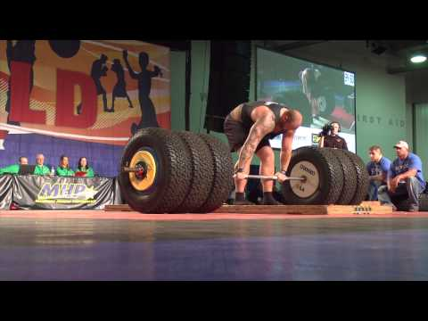 Actor Hafthor Julius Bjornsson The Mountain on  Game of Thrones Deadlifts 994