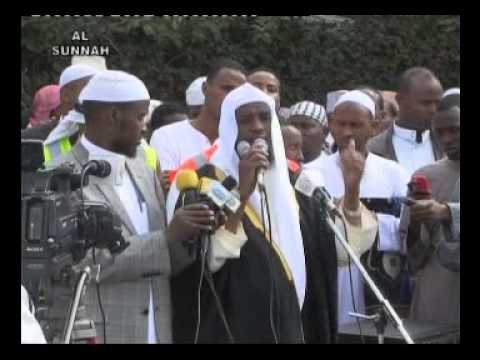 sidee-looga-ciiday-xaafadda-islii-nairobi-a-khutbada-sh-umal-agust-19-2012