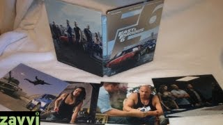 Nonton Fast & Furious 6 Zavvi Exclusive Blu-ray SteelBook with Artcards Unboxing - (2013) Film Subtitle Indonesia Streaming Movie Download