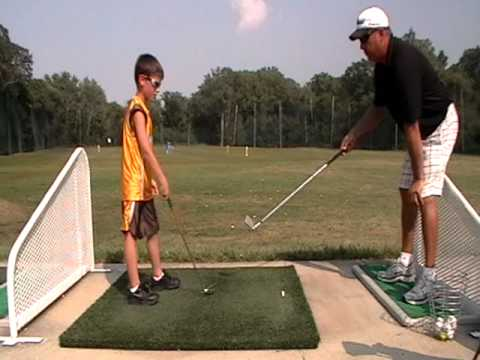 Session 2: Youth golf lessons with Lock Golf Academy