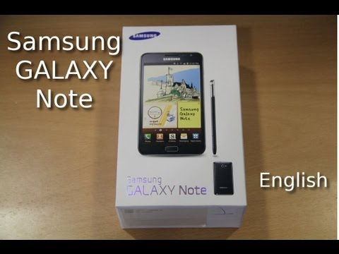 note - Visit: http://www.newgadgets.de Exclusive Unboxing, Hands On and Review of the Samsung Galaxy Note. It has a 5,3-Inch HD Super AMOLED Display and a Dual-Core...