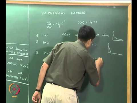 Mod-07 Lec-30 Gewöhnliche Differentialgleichungen (Anfangswertprobleme) Teil 6