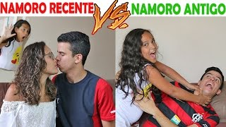 INÍCIO DE NAMORO VS NAMORO ANTIGO! - KIDS FUN