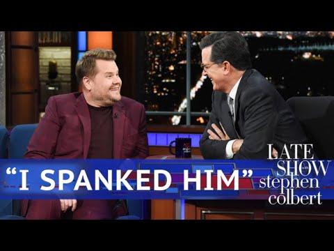 "Corden On Trump: ""I Spanked Him"""