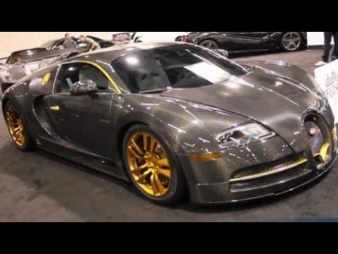 Bugatti Veyron Mansory Vincero Carbon Fiber @ duPont Registry Live OC Auto Show