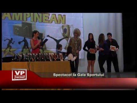 Spectacol la Gala Sportului
