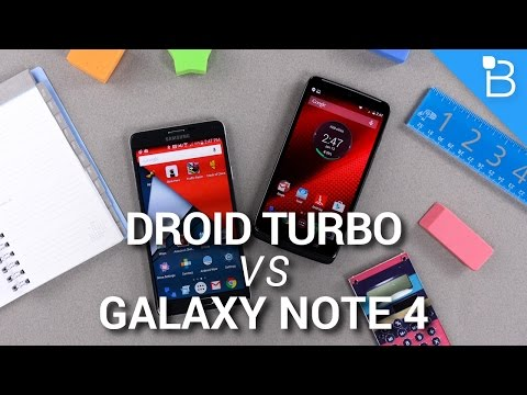 Video Galaxy Note 4 vs DROID Turbo: A Big Screen Against a Big Battery download in MP3, 3GP, MP4, WEBM, AVI, FLV January 2017