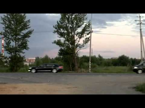 Кортеж С.Медведевой, переплюнул кортеж мужа.