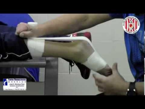 vendaje funcional del tendon de aquiles