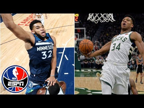 Video: NBA Top 10 Plays of the Week: Towns dunk, Giannis steal and slam, more