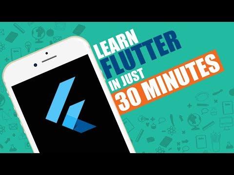 Create A Flutter App in just 30 mins | Flutter Quick Start Guide | Eduonix