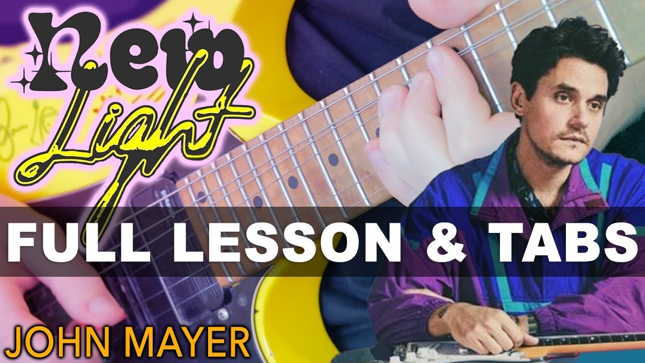 John Mayer – New Light Guitar Lesson With Darryl Syms | Easy Beginner Tutorial