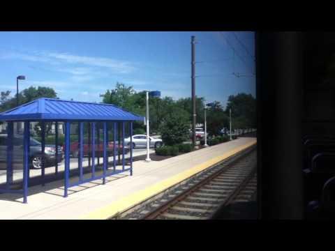 MTA Maryland Light Rail BWI Airport Station to Penn Station 7/7-11/16 HD