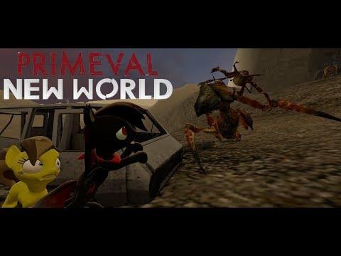 Primeval New World Antlionopsid Vs Future Zombie - Antlion Guard is Gorgonopsid