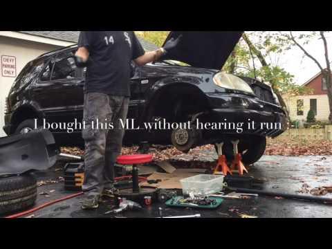 1999 Mercedes Benz ML430 Starter Replacement Upper Control Arm Inspection & Bonus Footage
